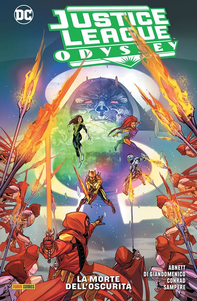 Justice League Odyssey 2  magazines