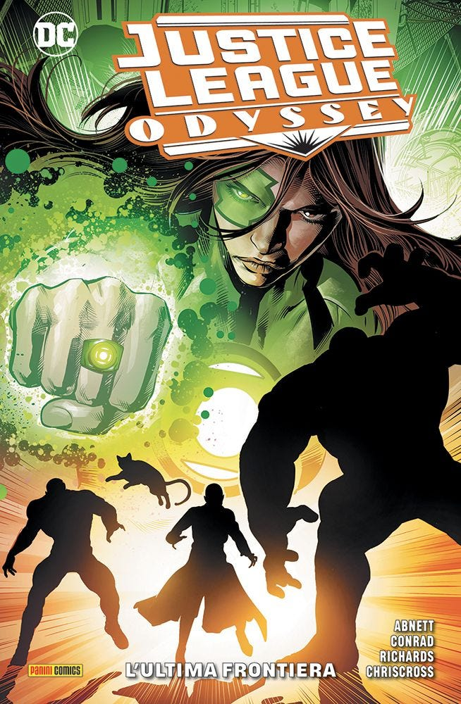 Justice League Odyssey 3 Justice League magazines