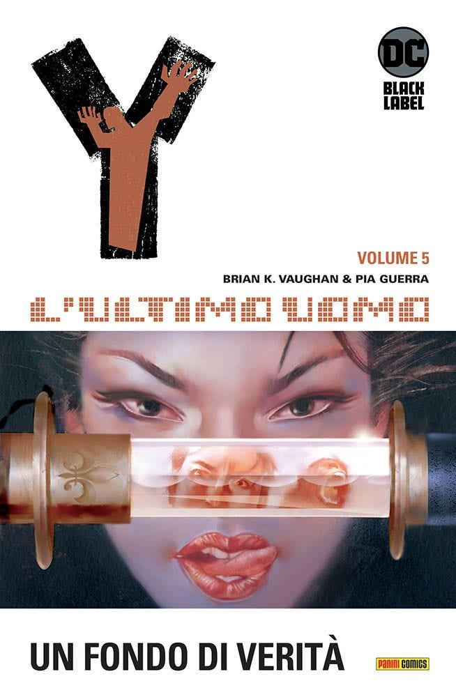 Y, L'Ultimo Uomo 5 DC Black Label magazines