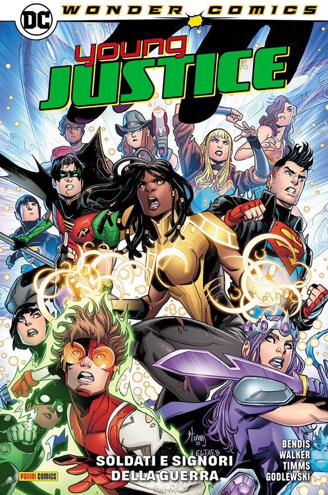 Young Justice 3 Prevendita magazines