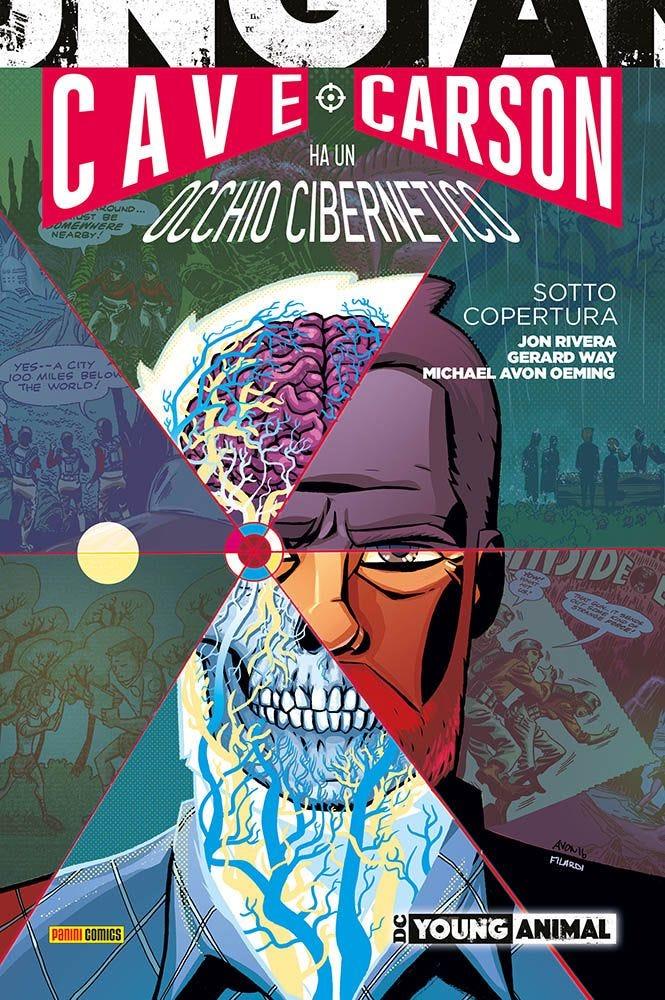 Cave Carson ha un Occhio Cibernetico: Sotto Copertura Volumi Autoconclusivi magazines