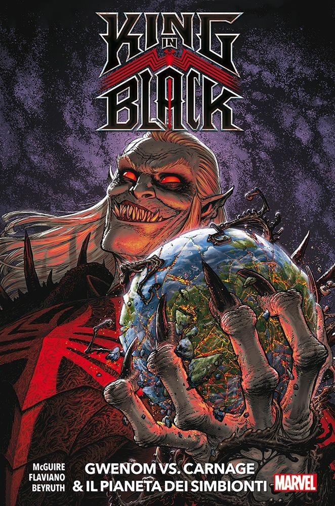 King in Black Presenta: Gwenom vs. Carnage e il Pianeta dei Simbionti Prevendita magazines