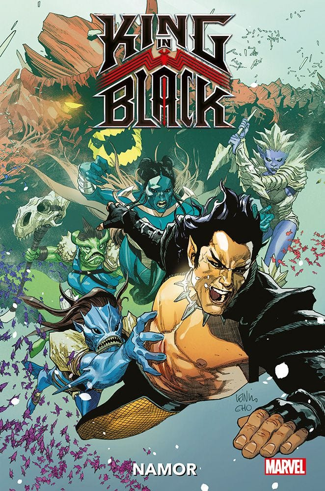 King in Black Presenta: Namor Prevendita magazines