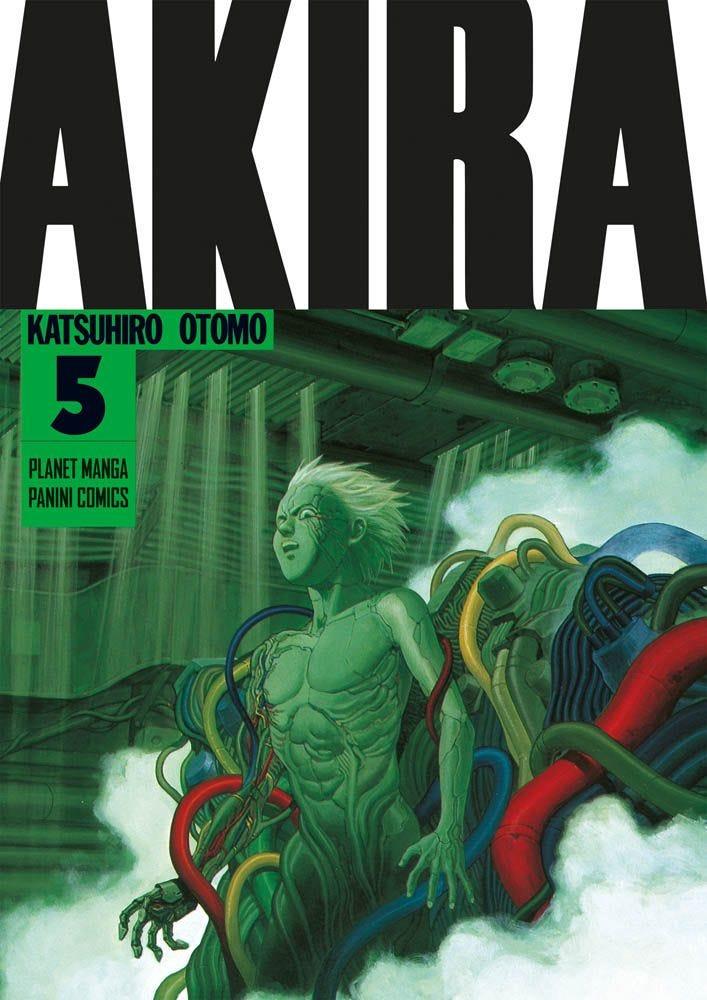 Akira – Nuova Edizione 5 Sci-Fi books