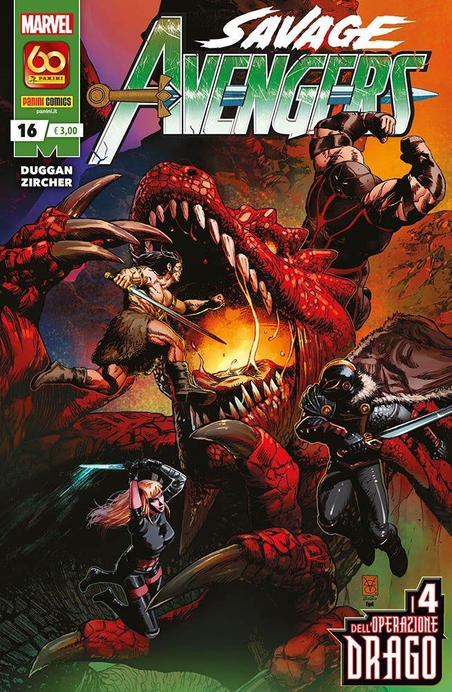 Savage Avengers 16 Raccolte in Volume magazines