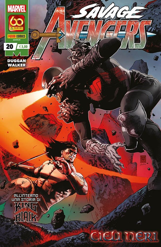 Savage Avengers 20 Avengers magazines