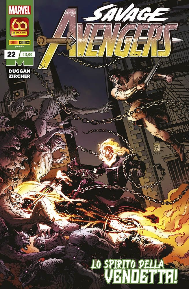 Savage Avengers 22 Avengers magazines