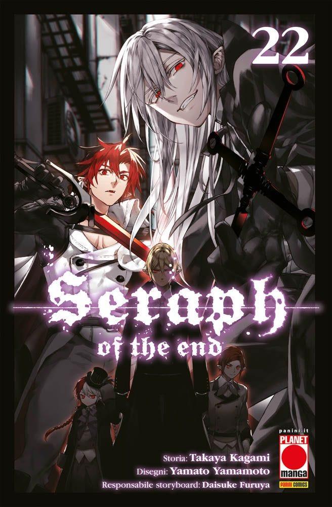 Seraph of the End 22 Azione books