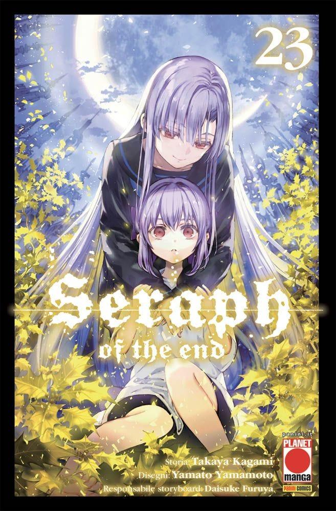 Seraph of the End 23 Azione magazines