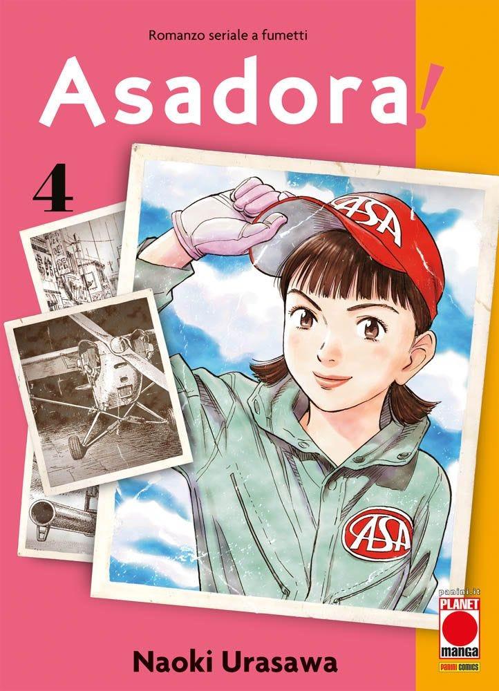 Asadora! 4  books