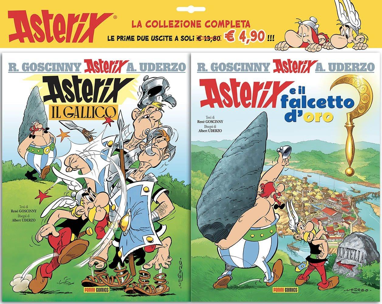Asterix il Gallico + Asterix e il Falcetto D'Oro Prevendita magazines