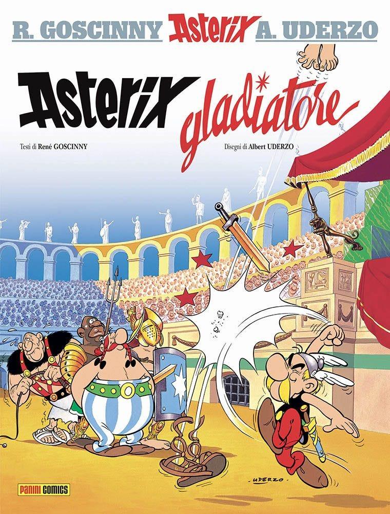 Asterix Gladiatore Umoristico e Parodia magazines