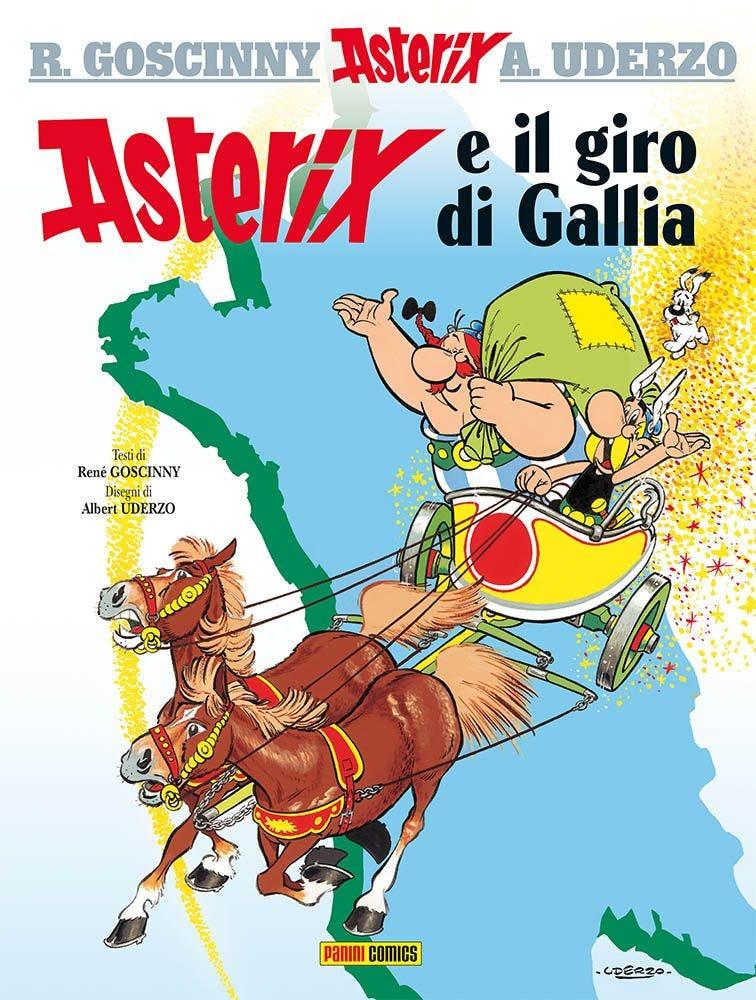 Asterix e il Giro di Gallia Umoristico e Parodia magazines