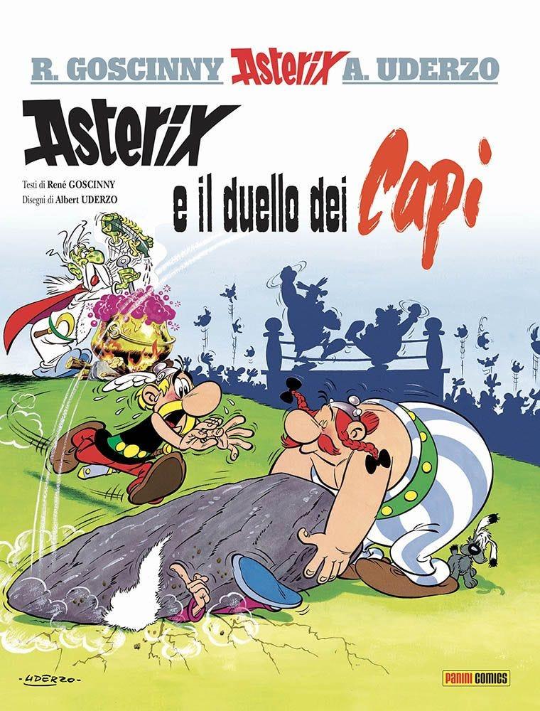 Asterix e il Duello dei Capi Asterix magazines