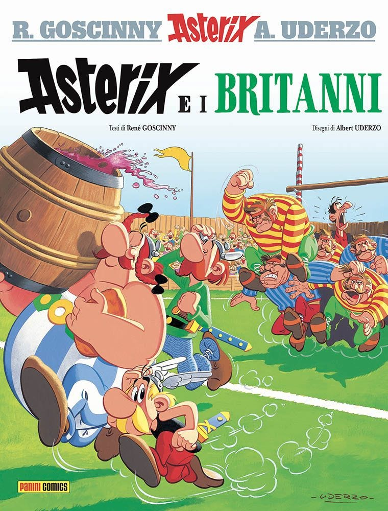 Asterix e i Britanni Asterix magazines