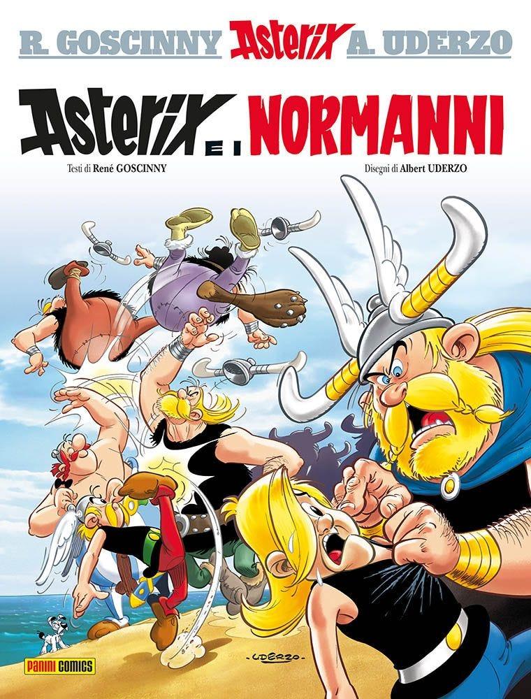 Asterix e i Normanni Asterix magazines