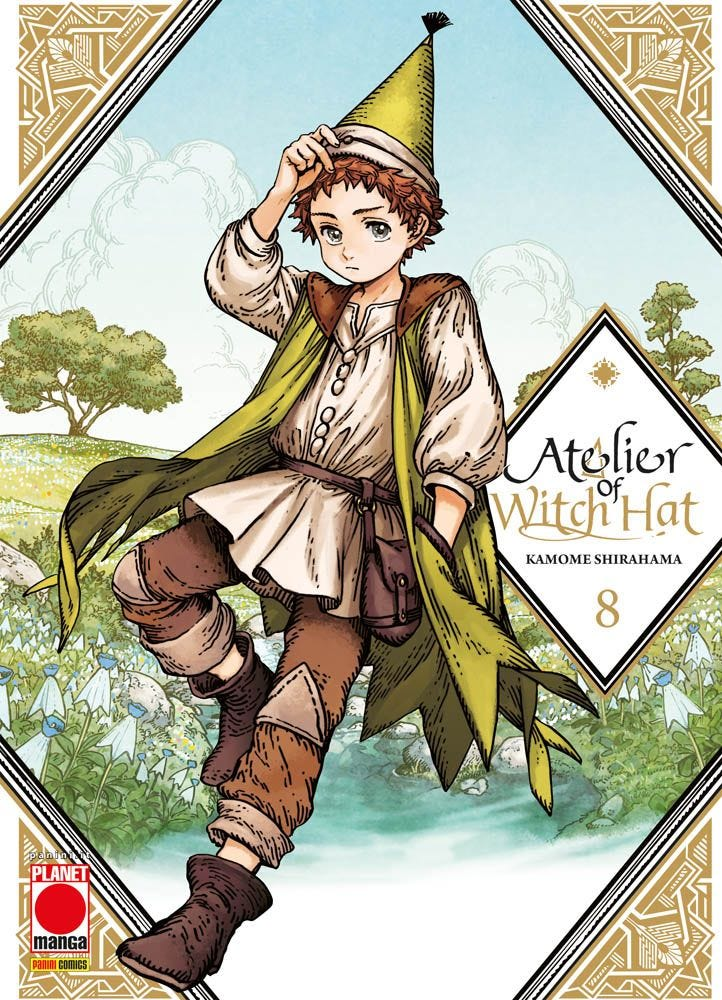 Atelier of Witch Hat 8 Fantasy books