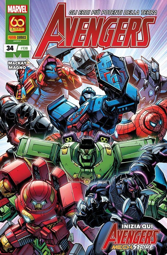 Avengers 34 Avengers magazines