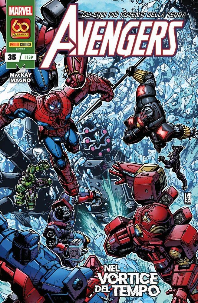 Avengers 35 Avengers magazines