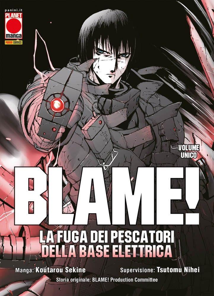 Blame! La Fuga dei Pescatori della Base Elettrica Da Cinema e Animazione magazines