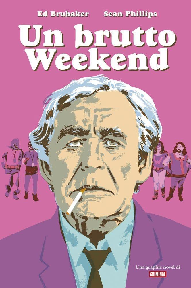 Un Butto Weekend una Graphic Novel di Criminal Thriller magazines