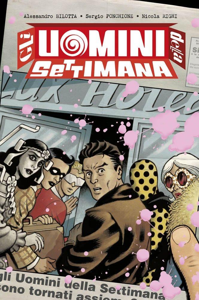 Gli Uomini della Settimana 1 Supereroi magazines