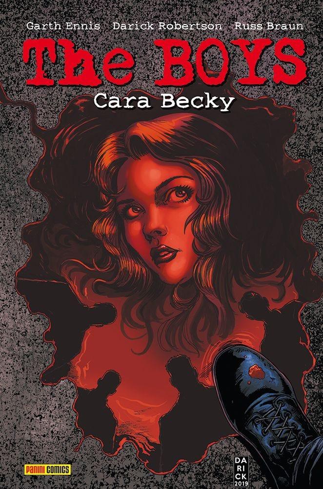 The Boys: Cara Becky  magazines