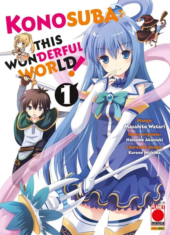 Konosuba! - This Wonderful World 1  books