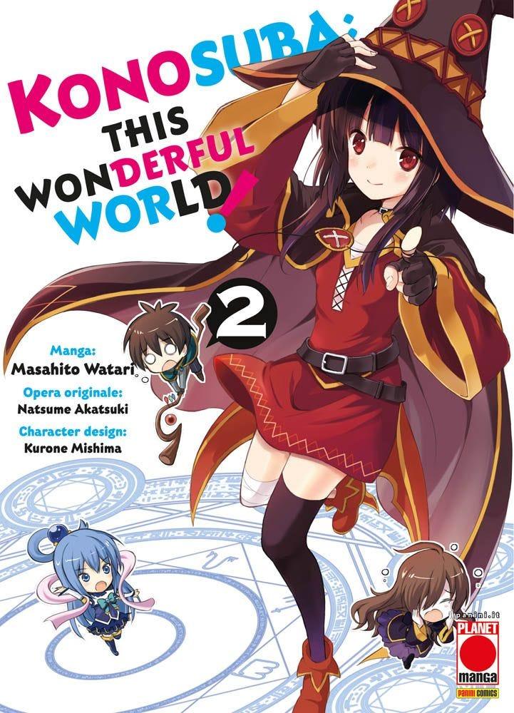 Konosuba: This Wonderful World! Fantasy books
