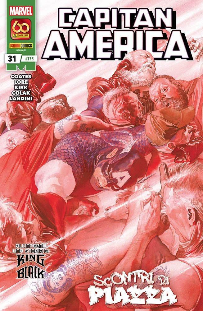 Captain America 31 Capitan America magazines