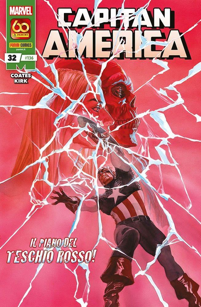 Capitan America 32 Capitan America magazines