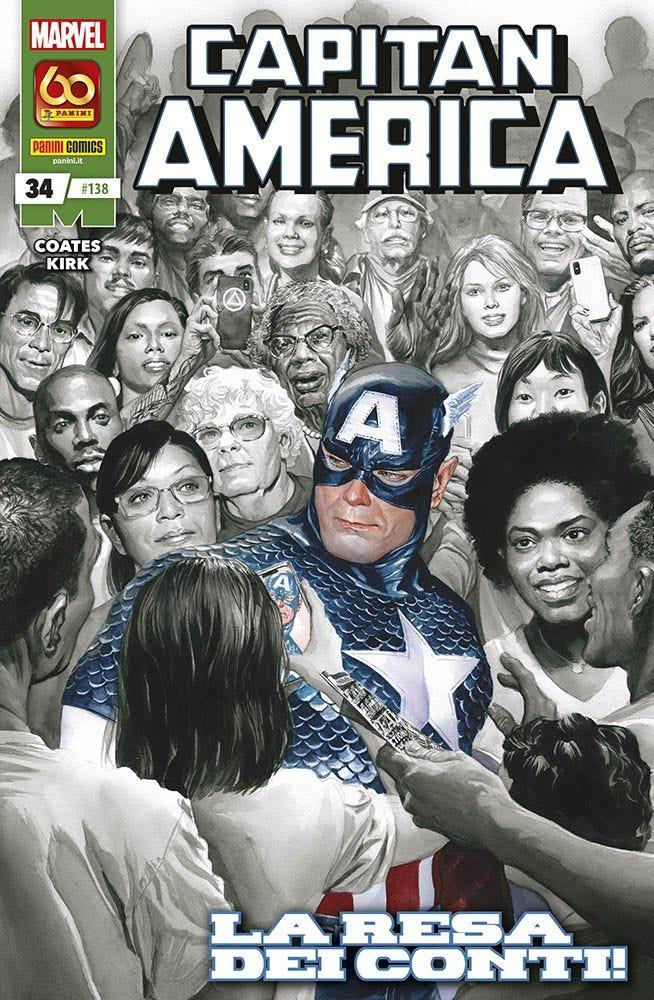 Capitan America 34 Capitan America magazines