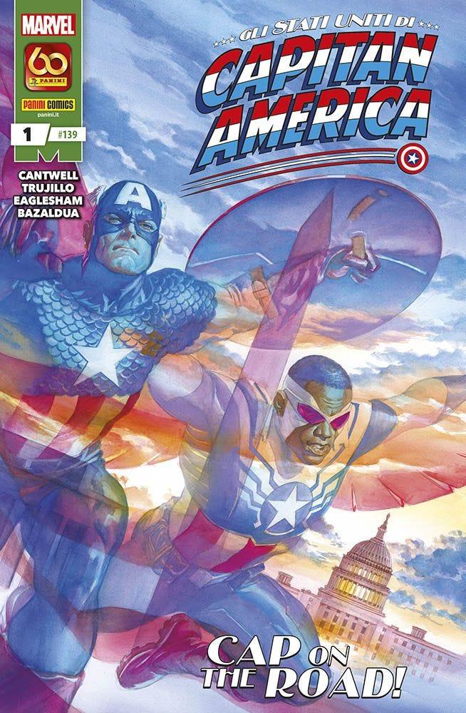 Gli Stati Uniti di Capitan America 1 Capitan America magazines