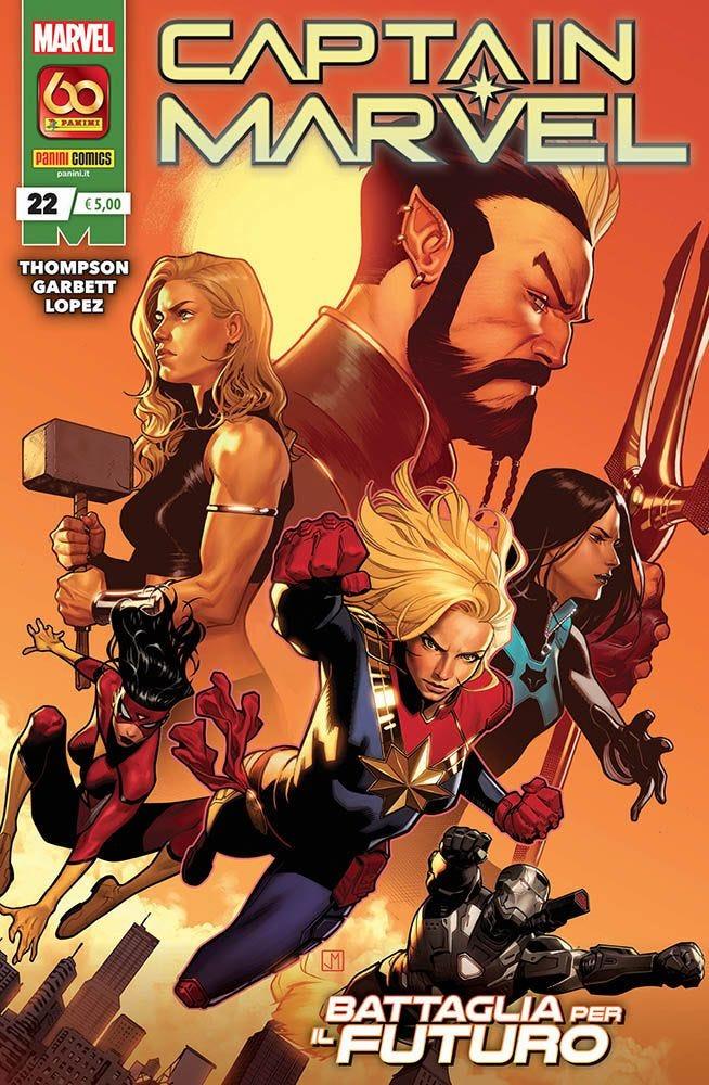 Captain Marvel 22 Prevendita magazines