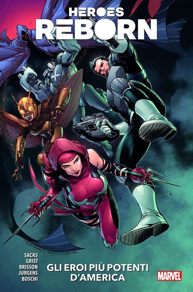 Heroes Reborn 2 Serie Regolare magazines