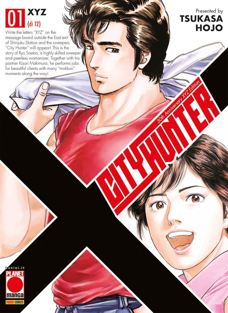 City Hunter XYZ 1 Azione magazines