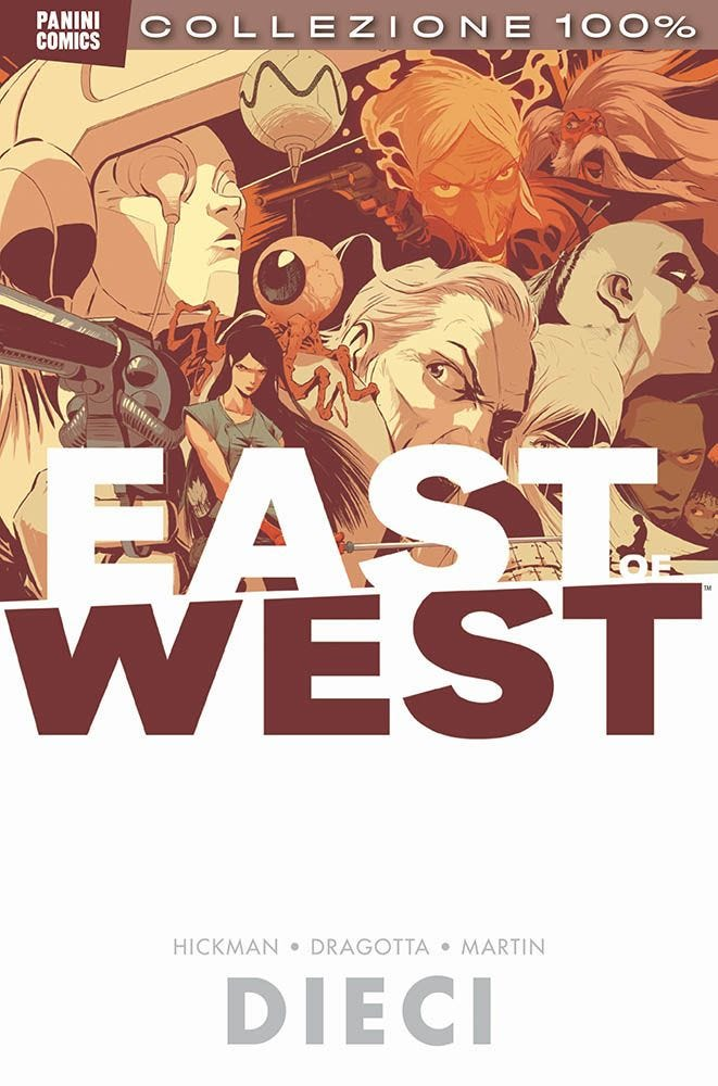 East of West 10 Sci-Fi magazines