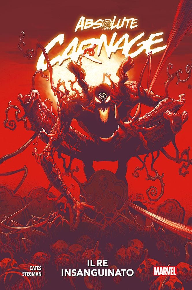 Absolute Carnage Venom magazines