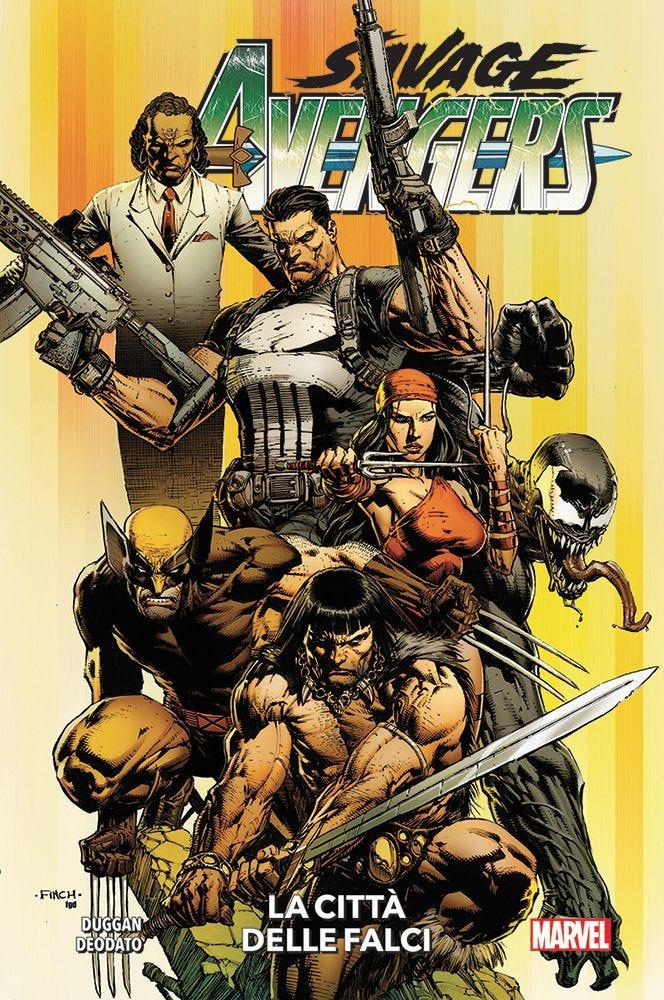 Savage Avengers 1 Avengers magazines