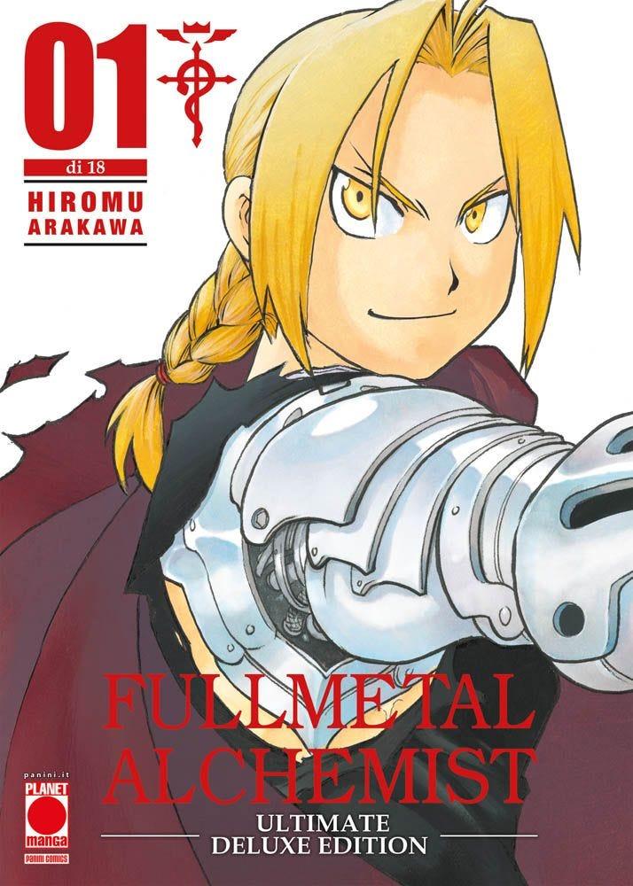 Fullmetal Alchemist Ultimate Deluxe Edition 1 Serie books