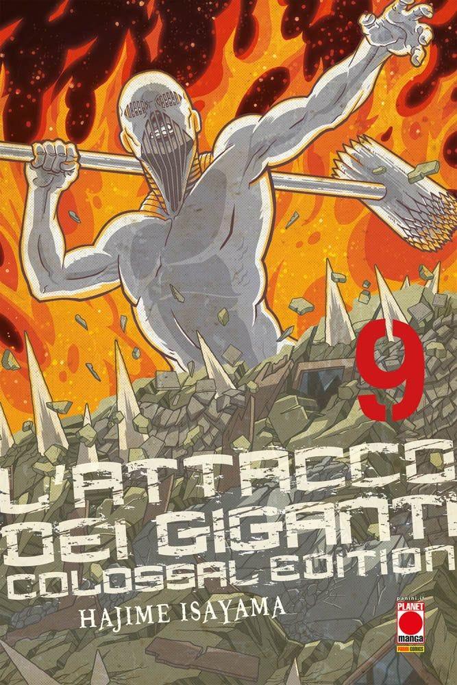 L'Attacco dei Giganti Colossal Edition 9 Da Cinema e Animazione books