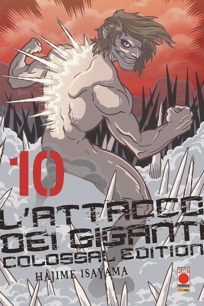 L'Attacco dei Giganti Colossal Edition 10 Attacco dei Giganti magazines