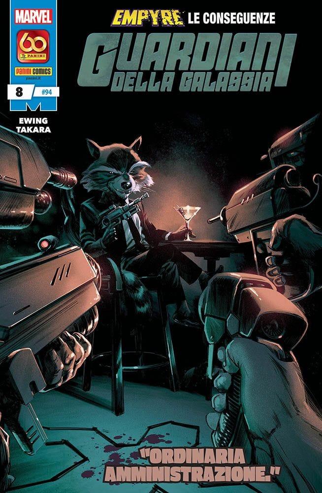 Guardiani della Galassia 8 Prevendita magazines