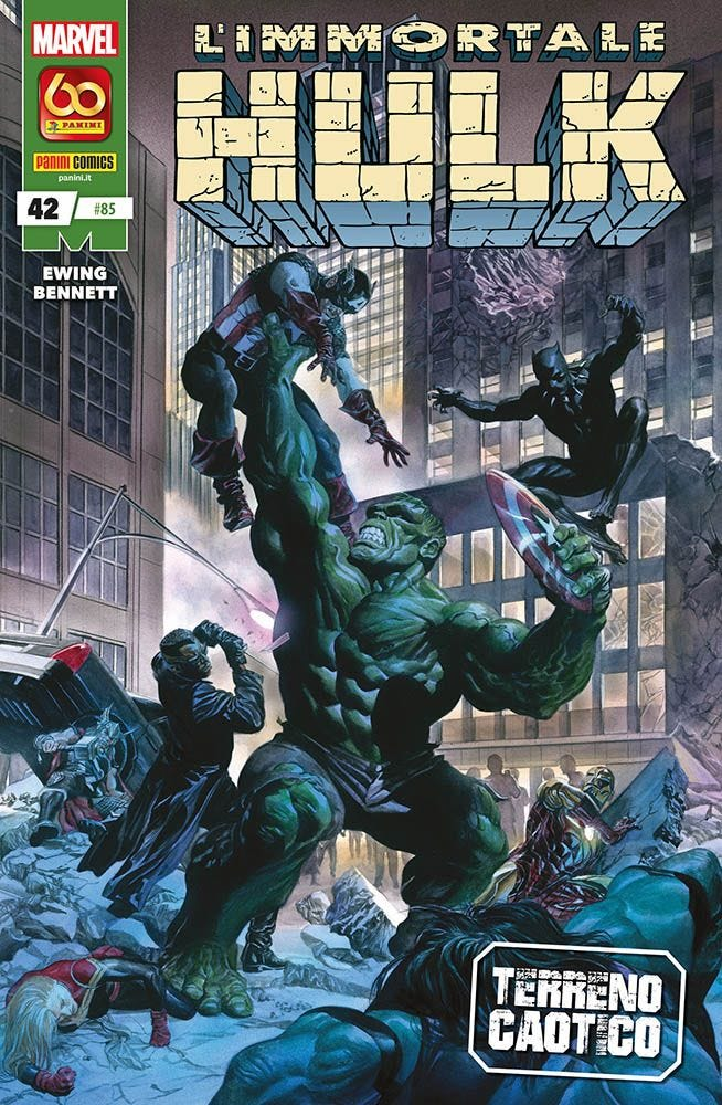L'Immortale Hulk 42 Hulk magazines
