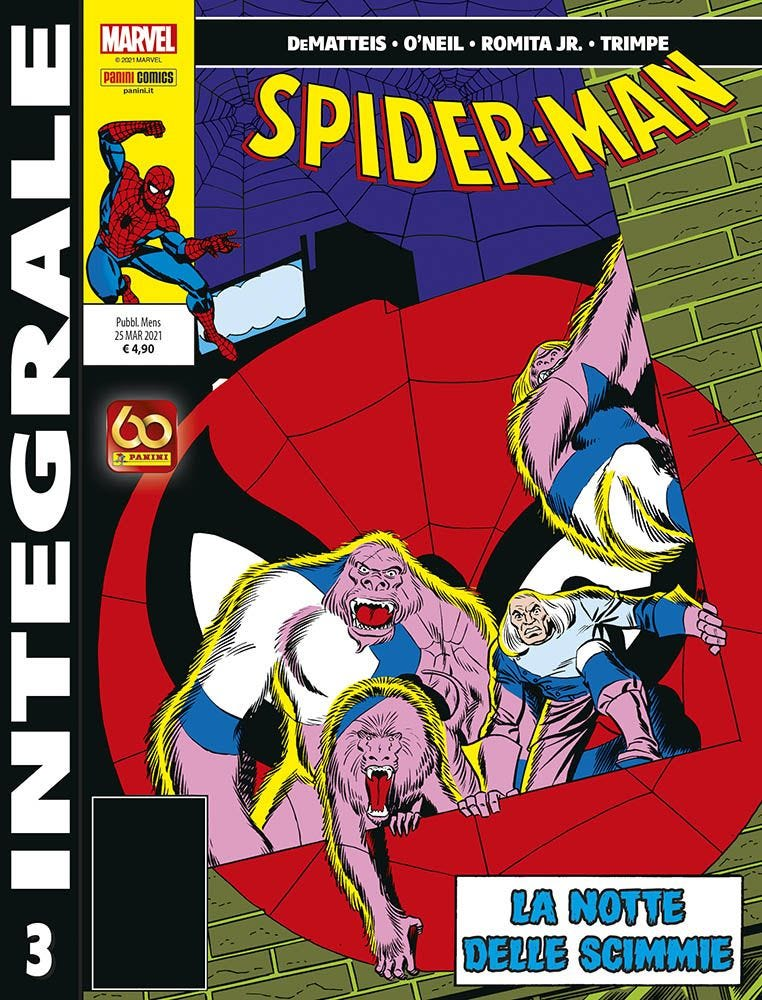 Marvel Integrale: Spider-Man Di J.M. De Matteis 3 Raccolte in Volume magazines