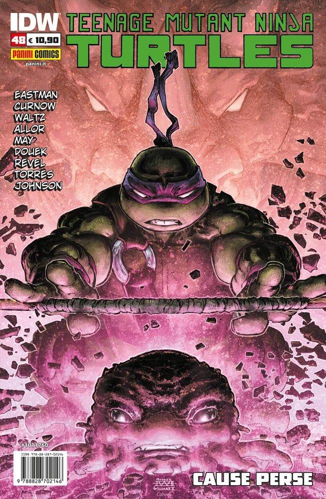 Teenage Mutant Ninja Turtles 48 Prevendita magazines