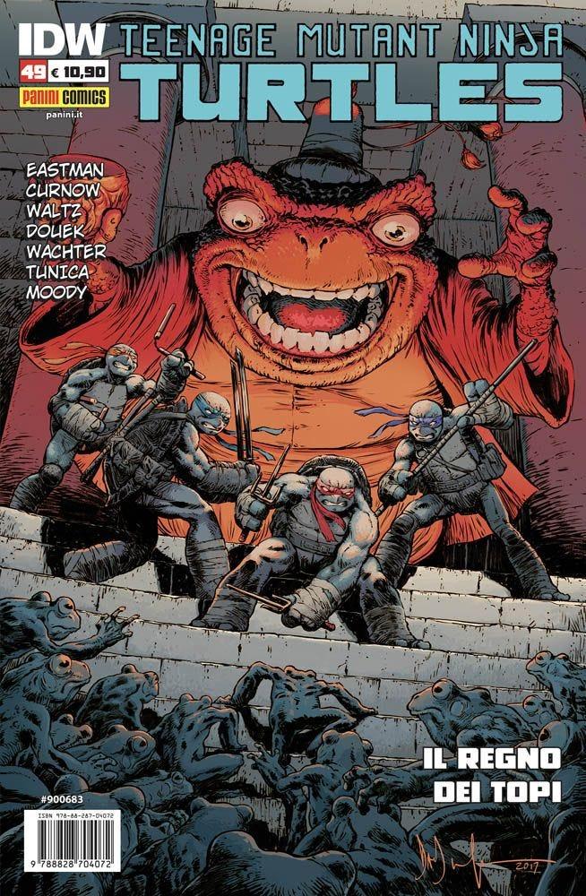 Teenage Mutant Ninja Turtles 49 Prevendita magazines