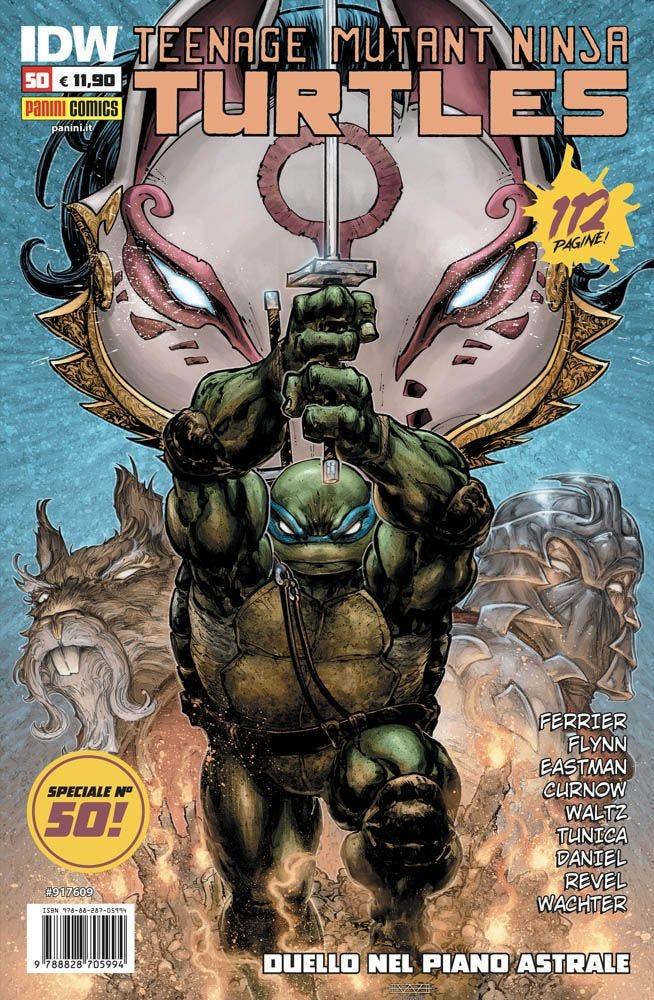 Teenage Mutant Ninja Turtles 50 Supereroi magazines