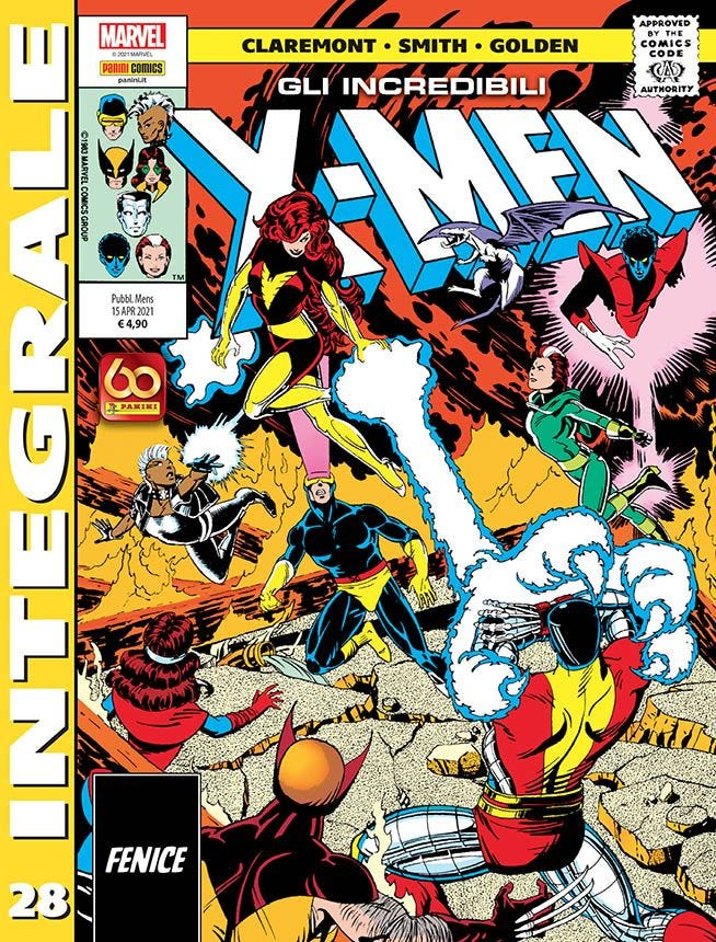 Marvel Integrale – Gli Incredibili X-Men 28 Prevendita magazines
