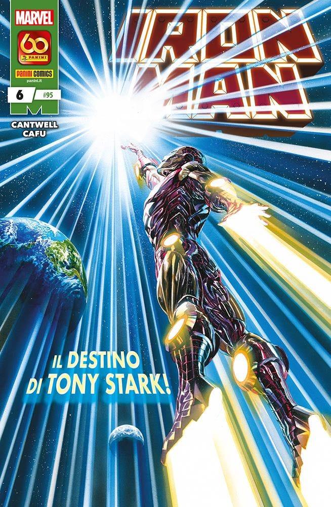 Iron Man 6 Prevendita magazines